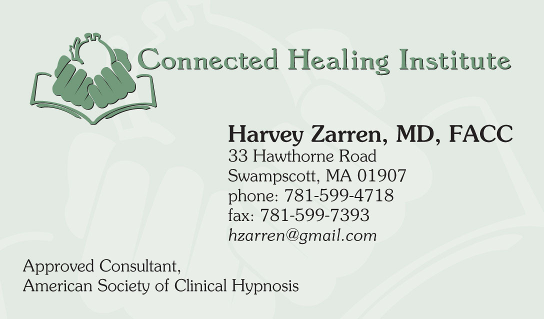Connected Healing Institute - HZ business card